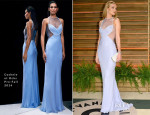 Rosie Huntington-Whiteley In Cushnie et Ochs - Vanity Fair Oscar Party 2014
