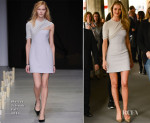 Rosie Huntington-Whiteley In Marios Schwab - Vogue Festival