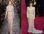 Sally Hawkins In Valentino - Oscars 2014