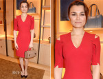 Samantha Barks In Marios Schwab - Moynat London Boutique