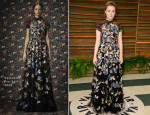 Saoirse Ronan In Valentino - Vanity Fair Oscar Party 2014