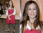 Sarah Jessica Parker In Dolce & Gabbana - The SJP Collection In Salon Shoes Launch At Nordstrom
