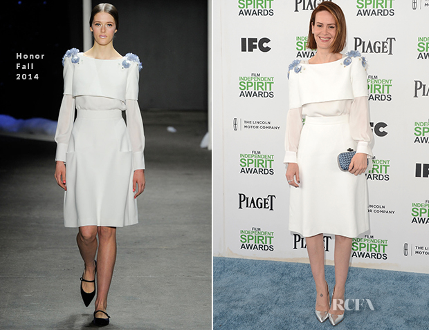 Sarah Paulson In Honor - Film Independent Spirit Awards 2014