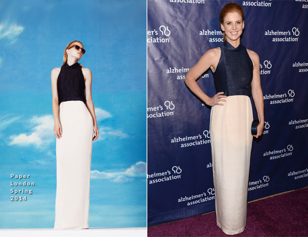 Sarah Rafferty In Paper London - 22nd A Night At Sardi's