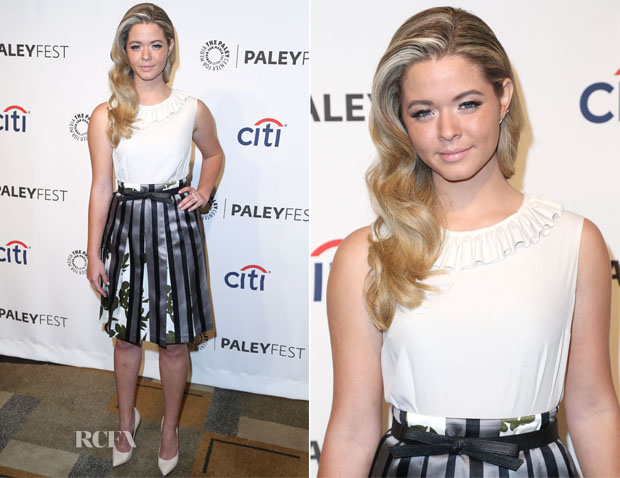 Sasha Pieterse In Marni - PaleyFest 2014 Honouring 'Pretty Little Liars'