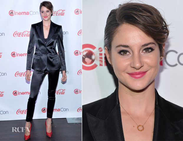 Shailene Woodley In Dolce & Gabbana - CinemaCon 2014 The CinemaCon Big Screen Achievement Awards