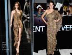 Shailene Woodley In Elie Saab Couture - 'Divergent' LA Premiere