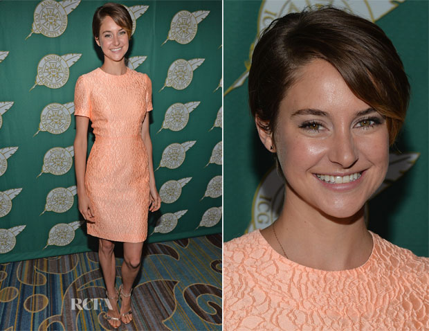 Shailene Woodley In Jonathan Saunders - 51st Annual Publicists Awards Luncheon
