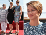 Shailene Woodley In Preen - Kate Winslet Honoured On The Hollywood Walk Of Fame