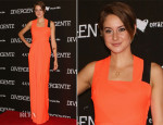 Shailene Woodley In Roksanda Ilincic - 'Divergent' Mexico City Premiere