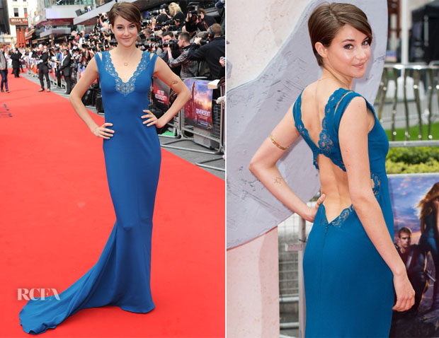 Shailene Woodley In Stella McCartney - 'Divergent' London Premiere