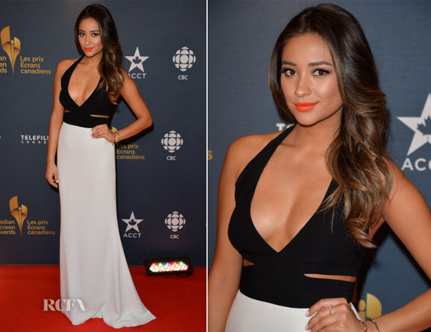 Shay Mitchell In Celia Kritharioti - Canadian Screen Awards