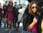Shay Mitchell In Diane Von Furstenberg - The View
