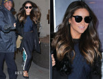 Shay Mitchell In Sachin + Babi and Zadig & Voltaire - VH1's 'Big Morning Buzz'