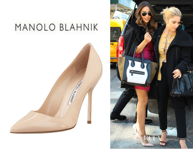 Shay Mitchell's Manolo Blahnik 'BB' Pumps