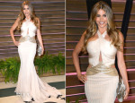 Sofia Vergara In Roberto Cavalli - Vanity Fair Oscar Party 2014
