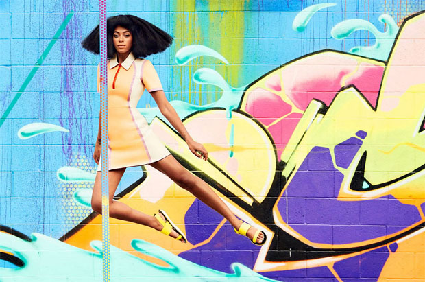 Solange Knowles Harpers Baazar