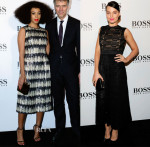 Solange Knowles & Margot Robbie In Hugo Boss - Boss Hong Kong Grand Opening