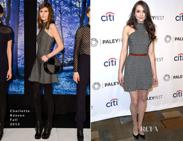 Troian Bellisario In Charlotte Ronson - PaleyFest 2014 Honouring 'Pretty Little Liars'