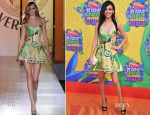 Victoria Justice In Atelier Versace - Nickelodeon Kids' Choice Awards 2014