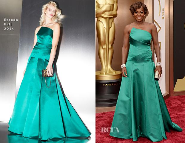 Viola Davis In Escada - Oscars 2014