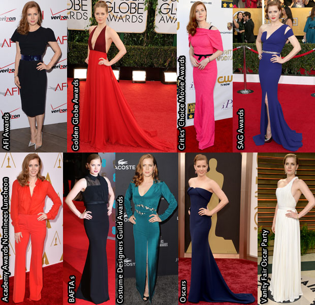 Which Was Your Favourite Amy Adams 2014 Awards Season Look