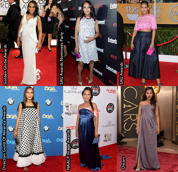 Which Was Your Favourite Kerry Washington 2014 Awards Season Look