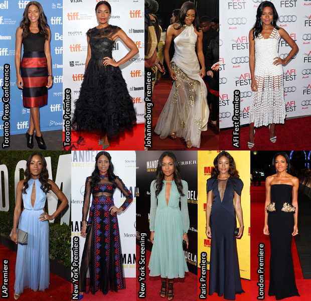 Which Was Your Favourite Naomie Harris 'Mandela Long Walk to Freedom' Promo Tour Look