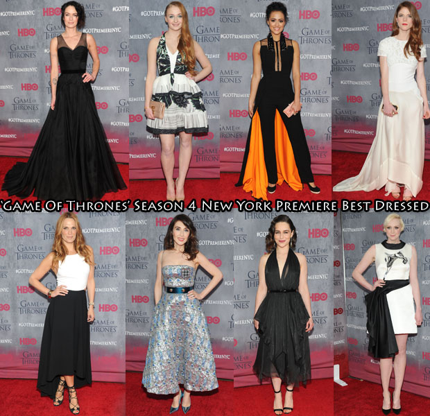 Who Was Your Best Dressed At The 'Game Of Thrones' Season 4 New York Premiere