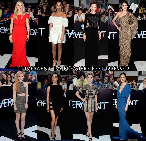 Who Was Your Best Dressed At The 'Divergent' LA Premiere