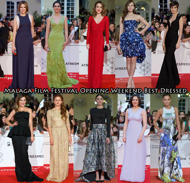 Who Was Your Best Dressed At The Malaga Film Festival