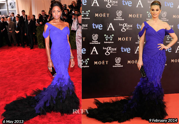 Who Wore Donna Karan Atelier Better Naomie Harris or Norma Ruiz