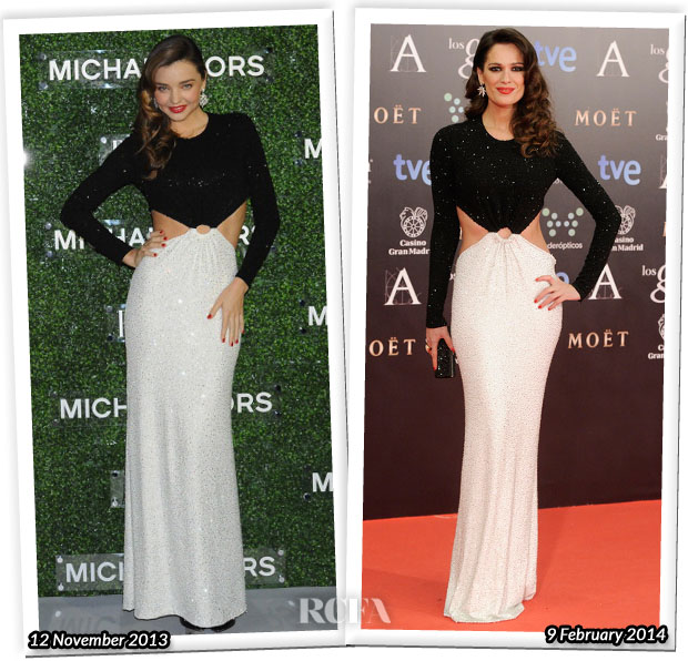 Who Wore Michael Kors Better Miranda Kerr or Mar Suara
