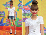 Zendaya Coleman In Oscar de la Renta - Nickelodeon Kids' Choice Awards 2014