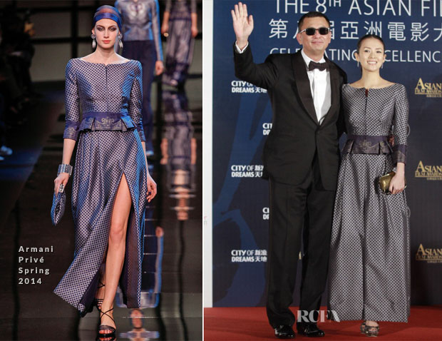 Zhang Ziyi In Armani Privé - 8th Asian Film Awards