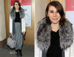 Zosia Mamet In Alice + Olivia - 'Hand To God' Off-Broadway Opening Night