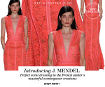 New at Net-A-Porter: J. Mendel
