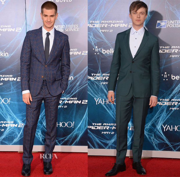 'The Amazing Spider-Man 2 Rise Of Electro' New York Premiere Menswear Roundup