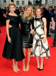Kate Upton in William Vintage,  Cameron Diaz in The Row and Leslie Mann in Giles