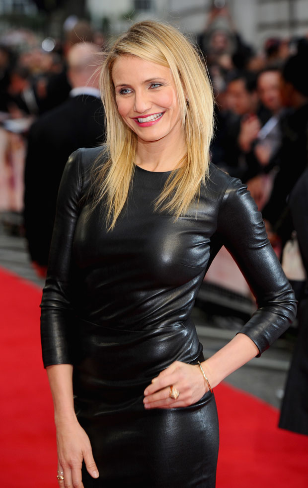 Cameron Diaz The Other Woman London Premiere Red
