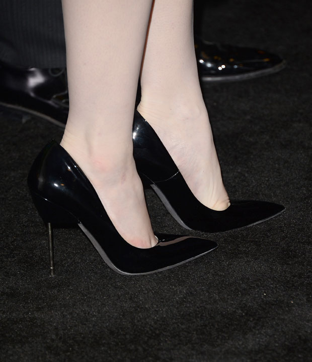 Christina Hendricks' Kurt Geiger pumps