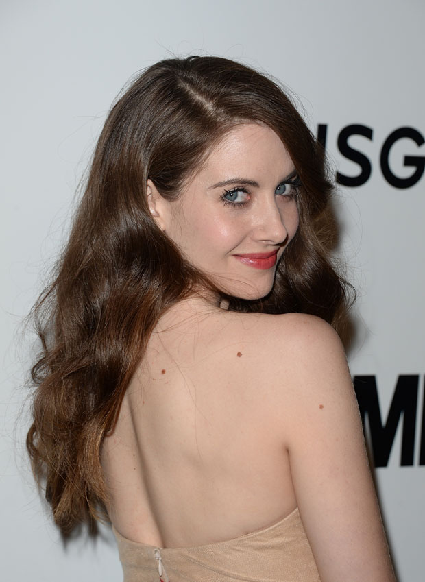 Alison Brie in Marchesa