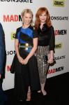 January Jones in Roksanda Ilincic and Christina Hendricks in Wes Gordon