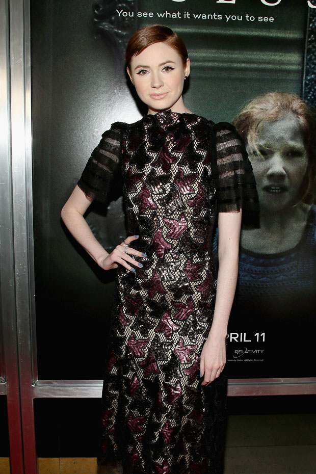Karen Gillan in Marc Jacobs
