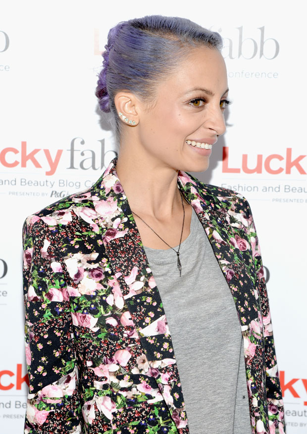 Nicole Richie in Givenchy and J Brand