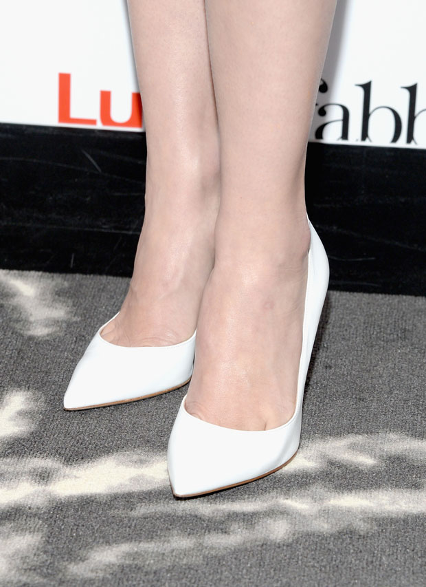 January Jones' Gianvito Rossi