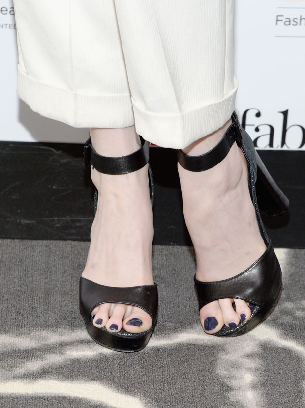 Coco Rocha's shoes