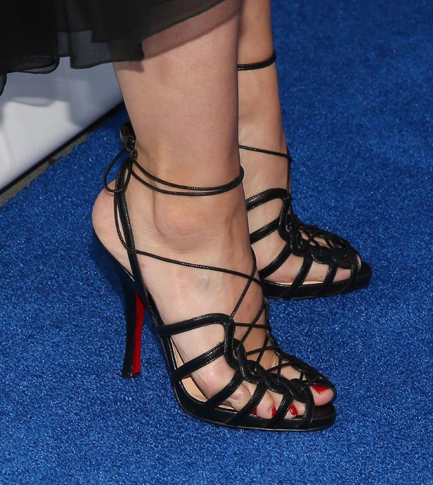 Kristen Bell's Christian Louboutin shoes