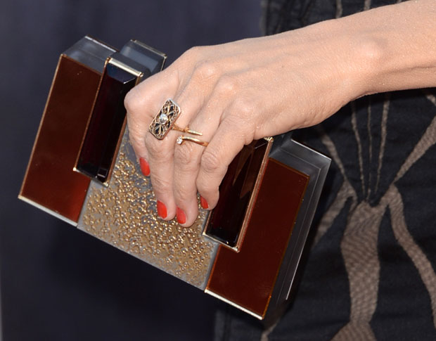 Sheryl Crow's clutch