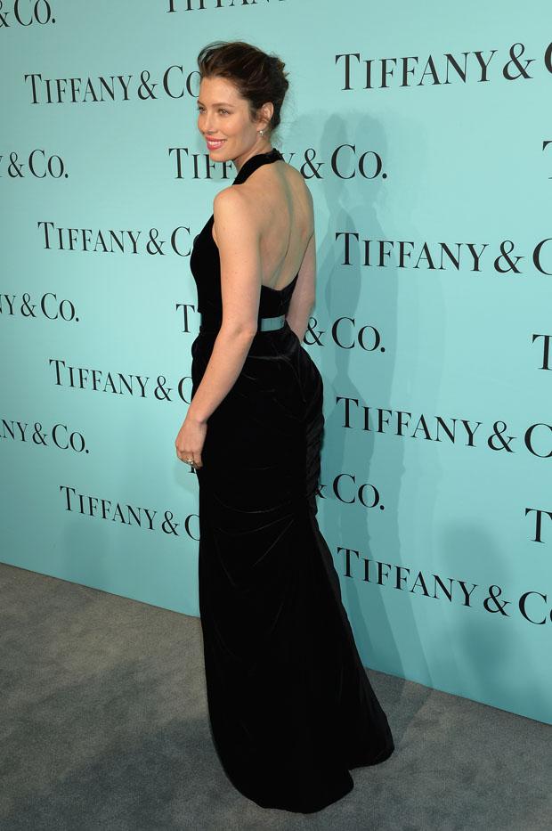 Jessica Biel in Oscar de la Renta
